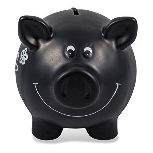 Pajoma 60280 Sparschwein aus Keramik zum Beschriften - 2