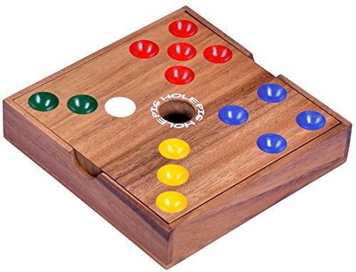 Logoplay Holzspiele Pig Big Schweinchenspiel - Würfelspiel - Gesellschaftsspiel - Brettspiel aus Holz - 3