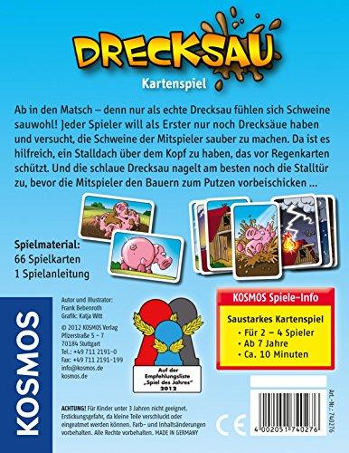 Kosmos 740276 - Kartenspiel Drecksau - 2